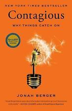 Contagious : Why Things Catch On by Jonah Berger (2013, Hardcover)