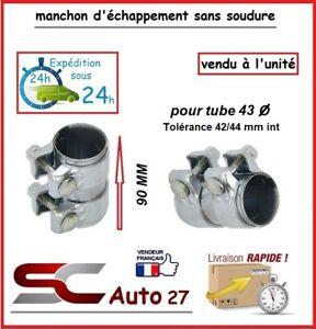 MANCHON CONNECTEUR D' ECHAPPEMENT/RACCORD POUR LIGNE /TUBE 43 mm l'unité AA99065
