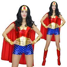 WONDER WOMAN Adults Women Costume Justice League Fancy Dress Costume Cosplay