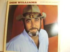 DON WILLIAMS LOVERS AND BEST FRIENDS LP ,MCA-5803 ,1986,  VINYL LP