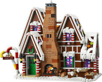 1691PCS City Christmas Gingerbread House Building Block Model Brick Figure BN