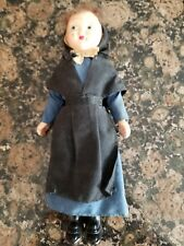 "Vintage German Milking Maid 7 1/2"" Doll Hand Painted Face"