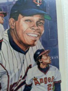 Rod Carew Legends Postcard Memorabilia