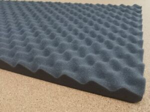 Auto Acoustic Egg Foam Sound Proofing Damping Deadening Mat Sheet 1200x500x30