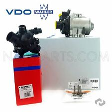 BMW 135i 335i X1 X5 X6 VDO Engine Water Pump with Bolts & Thermostat Wahler