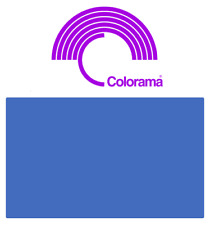Colorama CHROMA BLUE Background Paper Roll (6 ft) 1.72m x 11m