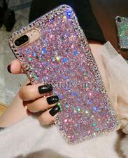 LG Stylo 4 Girl's Bumper Bling Diamond Rhinestone Glitter Silicon Case Cover US