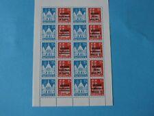 2 Vignetten-Kleinbögen zur Philatelie 1981, xx Fotos