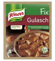 12 x KNORR FIX GULASCH GOULASH - GERMAN COOKING - ORIGINAL FROM GERMANY