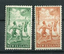 New Zealand KGVI 1940 Health Stamps SG626/7 MNH