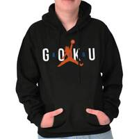 Air Goku Athletic Basketball Anime TV Show Hooded Sweatshirts Hoodies For Men