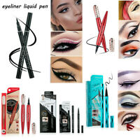 4D Waterproof Black Eyeliner Liquid Eye Liner Pencil Pen Long Lasting Makeup New