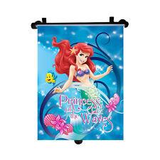 Genuine Sirenita Disney Princesa coche parasol enrollable ventana ciega Niño Nuevo