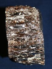 Bismuth Metal Ingot 5 lbs. 5 Pounds Ingot 99.99% $10/lb. FREE SHIPPING
