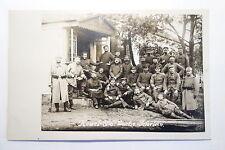 Foto Ansichtskarte Militär 1.Weltkrieg Soldat Regiment Wache Kowel Ukraine 1916