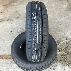 2x 145r10 84/82N 8Ply Rating Kenda New Trailer tyres x2 145 80 10 500KG