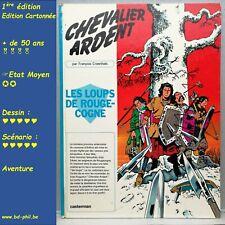 Chevalier Ardent, 2 Les loups de Rouge-cogne, Craenhals, Casterman, EO, 1970, BE