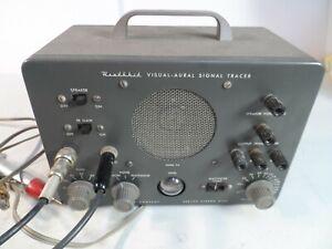 vintage Heathkit Model Visual Aural Signal Tracer Magic Eye