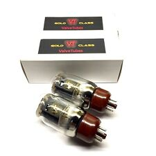 Matched Pair KT66  New Valve Tubes Gold Class Made By Shuguang China