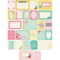 40 Piece Project Life 97711 Theme Cards-School
