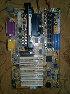 Motherboard SLOT1 IWILL WS133 ATX i810E + CPU466Mhz + RAM128MB + Video + Sound