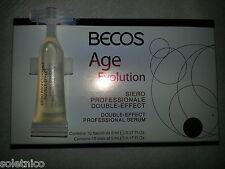BECOS AGE EVOLUTION SIERO PROFESSIONALE DOUBLE EFFECT conf. 10 Fiale da 5ml.
