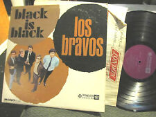 LOS BRAVOS BLACK IS BLACK PROMO ORIG '66 MONO PRESS LP pr73003 RARE NM beat mod!