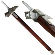 Medieval Functional Knights Spiked Lucerne 13th Century Iron War Hammer