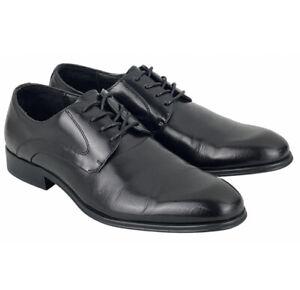 Kenneth Cole Men's Black Leather Lace Up Shoes UK 7.5 | EUR 41 | US 8