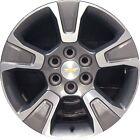 "Set of 4 2015-2020 Chevy Colorado 17"" Genuine OEM Wheels Rims 6x120 - Take Offs"