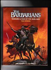 *****THE BARBARIANS-WARRIORS & WARS---TIME NEWARK---Angus McBride-pb-1985*****