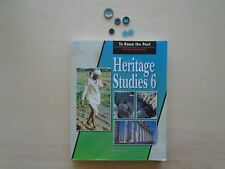 Bob Jones BJU Heritage Studies 6 student homeschooling To Know the Past History
