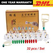 Profi Schröpfen Set Vakuum Massage mit Pumpe 32 Schröpfgläser vacuum cupping Set