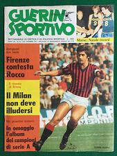 GUERIN SPORTIVO 1974 n 35 , GIANNI RIVERA VESPA PIAGGIO LANDO BUZZANCA