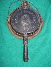Favorite-Piqua-Ware No. 8 Waffle Iron & Low Base Cast Iron Cookware........IR-TH