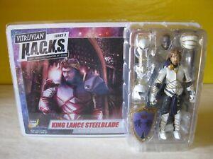 "2018 Vitruvian Hacks Boss Fight Studios 4"" Fantasy S2 King Lance Steelblade New"