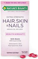 Nature's Bounty Supports Beautiful Hair,Glowing Skin,Healthy Nails,