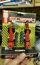 """Red freak factory v brakes cantilever canti 20"""" 24"""" mid school bmx shimano dx"""
