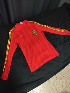 Belgium 1976 adidas ventex home jersey