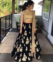 NEW INDIAN DESIGNER LEHENGA WEDDING PARTY WEAR PAKISTANI BRIDAL LEHENGA CHOLI
