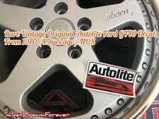 VINTAGE ORIGINAL AUTOLITE DECAL NOS FRM 1970 FORD GT40 SHELBY COBRA MUSTANG GT