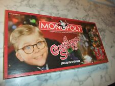 Monopoly A Christmas Story Collectors Edition 100% Complete