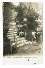 CPA - Carte Postale -France   Paris - Square ST Pierre -1904- VM3652