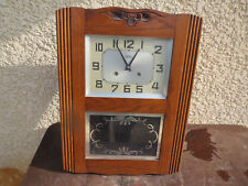 ANCIEN CARILLON  ODO 1 TIGES 1 MARTEAUX WESTMINSTER ODO FRENCH CLOCK 24