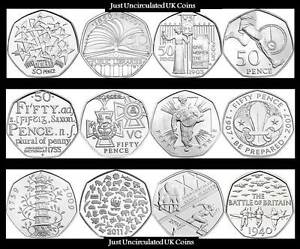 BU 50p Fifty Pence Coins 1998-2020 Various Years - Royal Mint - Kew Gardens - GB