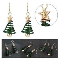 Christmas Tree Earrings Dangle Earring Plating Gold Party Earrings PARTY Gifts