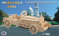 3d wood puzzles Mercedes SSKL