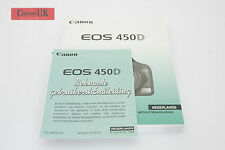 Canon EOS 450D Instruction Manual / Instructiehandleiding Dutch / Nederlands