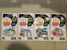 McDonalds Golden Arches Building Refrigerator Magnet No.51334,3,2,1 All New