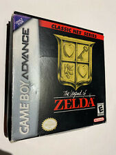 LEGEND OF ZELDA GBA GAMEBOY ADVANCE BOX MANUAL GAME CART CARTRIDGE U.S. AUTHNTIC